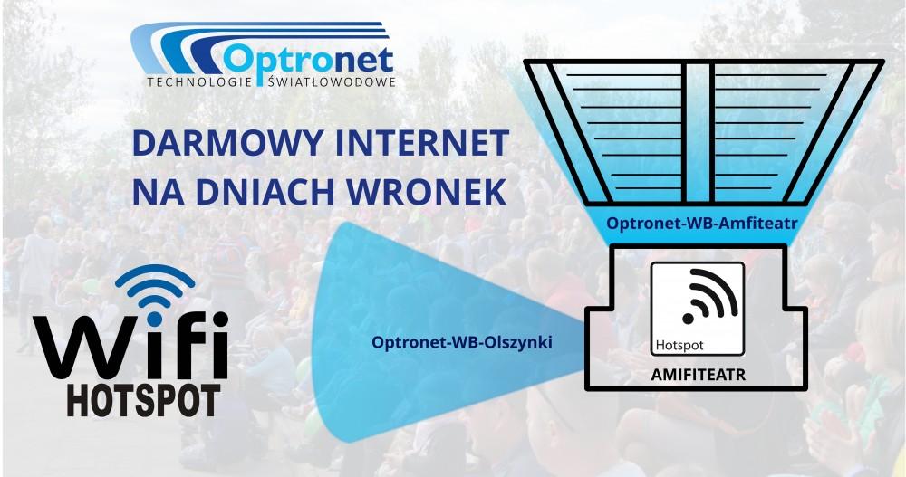 Darmowy Internet na Dniach Wronek 2015